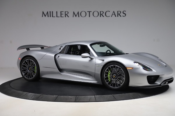 Used 2015 Porsche 918 Spyder for sale Sold at Bentley Greenwich in Greenwich CT 06830 20