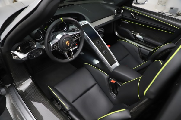 Used 2015 Porsche 918 Spyder for sale Sold at Bentley Greenwich in Greenwich CT 06830 22