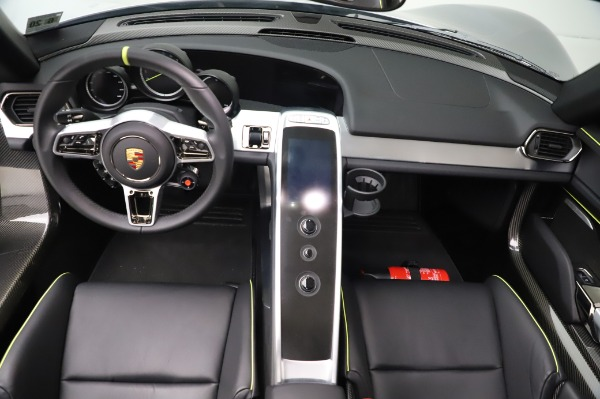 Used 2015 Porsche 918 Spyder for sale Sold at Bentley Greenwich in Greenwich CT 06830 26