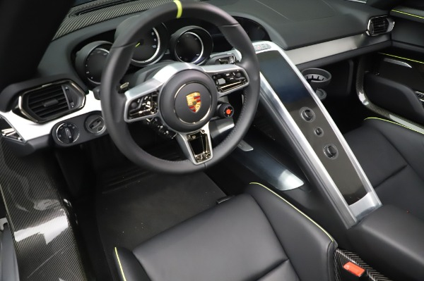 Used 2015 Porsche 918 Spyder for sale Sold at Bentley Greenwich in Greenwich CT 06830 27