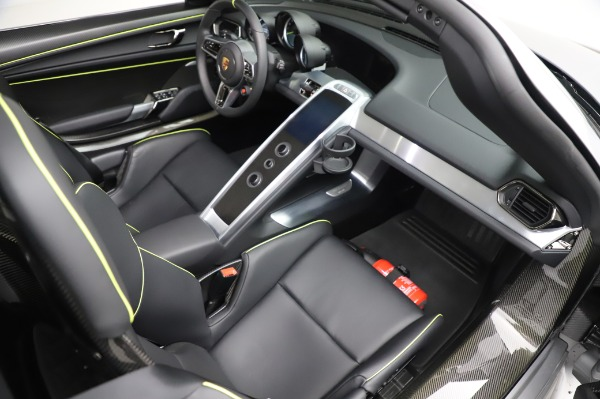 Used 2015 Porsche 918 Spyder for sale Sold at Bentley Greenwich in Greenwich CT 06830 28