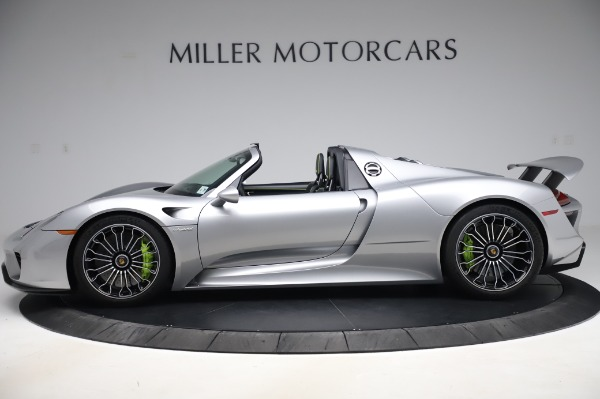 Used 2015 Porsche 918 Spyder for sale Sold at Bentley Greenwich in Greenwich CT 06830 3