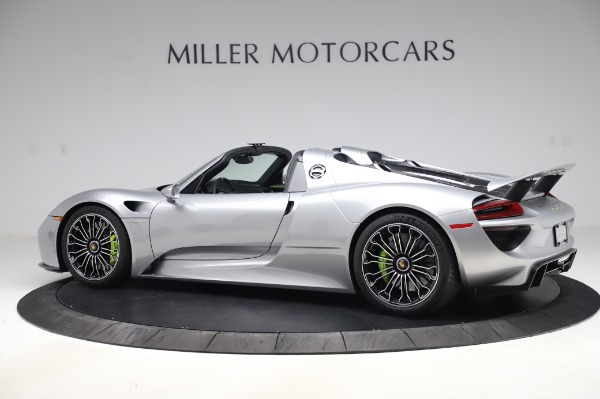 Used 2015 Porsche 918 Spyder for sale Sold at Bentley Greenwich in Greenwich CT 06830 4