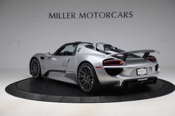 Used 2015 Porsche 918 Spyder for sale Sold at Bentley Greenwich in Greenwich CT 06830 5
