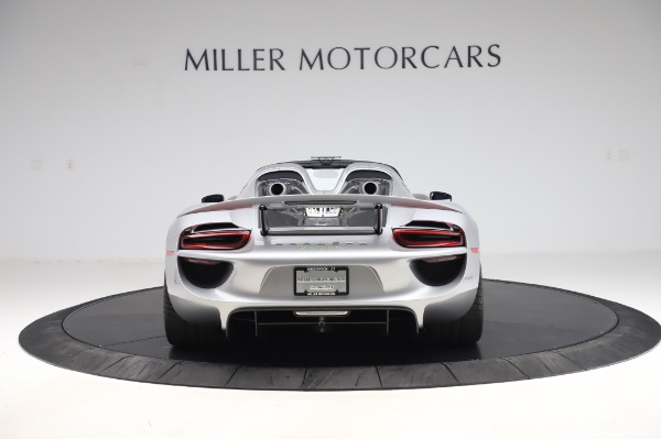 Used 2015 Porsche 918 Spyder for sale Sold at Bentley Greenwich in Greenwich CT 06830 6