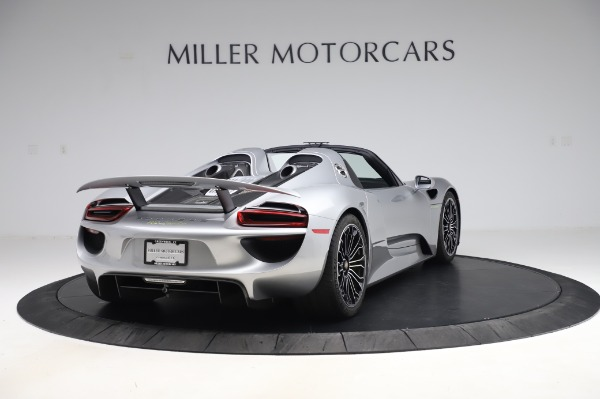 Used 2015 Porsche 918 Spyder for sale Sold at Bentley Greenwich in Greenwich CT 06830 7