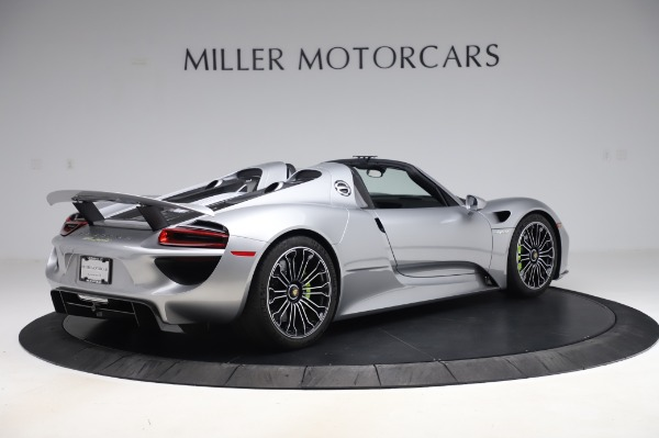 Used 2015 Porsche 918 Spyder for sale Sold at Bentley Greenwich in Greenwich CT 06830 8