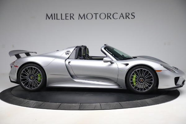 Used 2015 Porsche 918 Spyder for sale Sold at Bentley Greenwich in Greenwich CT 06830 9