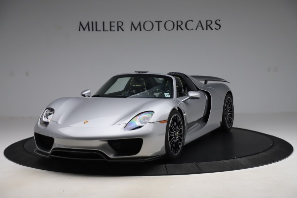 Used 2015 Porsche 918 Spyder for sale Sold at Bentley Greenwich in Greenwich CT 06830 1