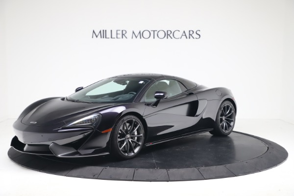 Used 2019 McLaren 570S Spider Convertible for sale $189,900 at Bentley Greenwich in Greenwich CT 06830 10