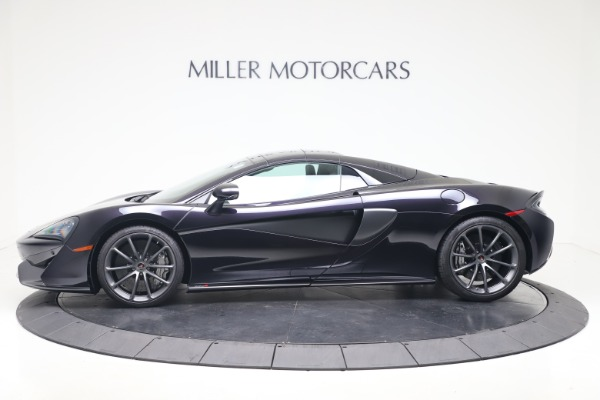 Used 2019 McLaren 570S Spider Convertible for sale $189,900 at Bentley Greenwich in Greenwich CT 06830 11