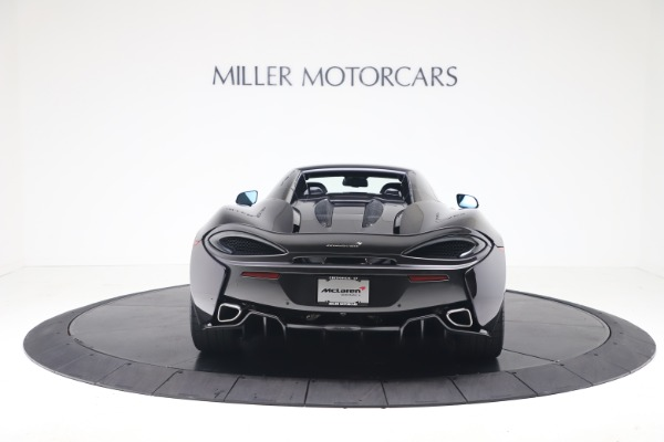 Used 2019 McLaren 570S Spider Convertible for sale $189,900 at Bentley Greenwich in Greenwich CT 06830 13