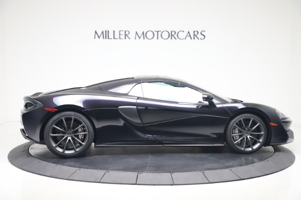 Used 2019 McLaren 570S Spider Convertible for sale $189,900 at Bentley Greenwich in Greenwich CT 06830 15