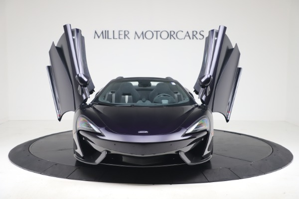 Used 2019 McLaren 570S Spider Convertible for sale $189,900 at Bentley Greenwich in Greenwich CT 06830 17