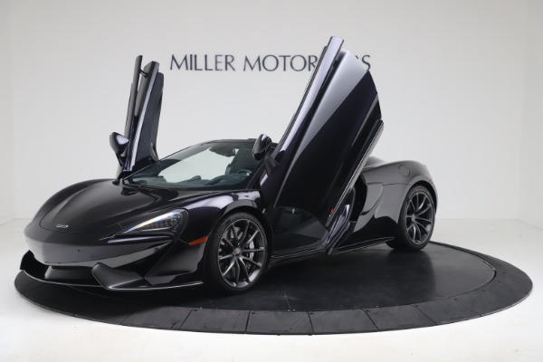 Used 2019 McLaren 570S Spider Convertible for sale $189,900 at Bentley Greenwich in Greenwich CT 06830 18