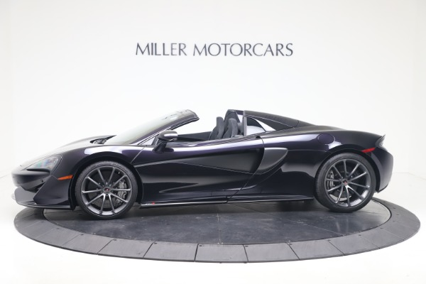 Used 2019 McLaren 570S Spider Convertible for sale $189,900 at Bentley Greenwich in Greenwich CT 06830 2