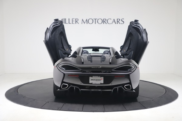 Used 2019 McLaren 570S Spider Convertible for sale $189,900 at Bentley Greenwich in Greenwich CT 06830 21