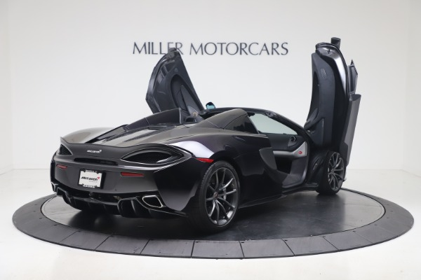 Used 2019 McLaren 570S Spider Convertible for sale $189,900 at Bentley Greenwich in Greenwich CT 06830 22
