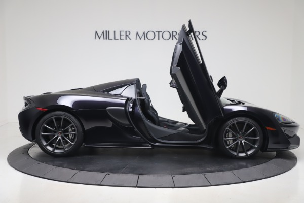 Used 2019 McLaren 570S Spider Convertible for sale $189,900 at Bentley Greenwich in Greenwich CT 06830 23