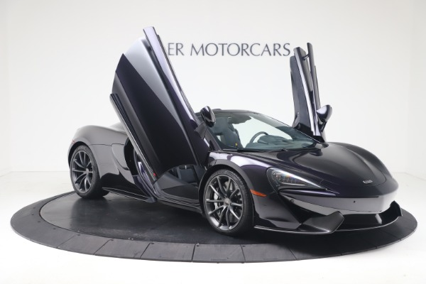 Used 2019 McLaren 570S Spider Convertible for sale $189,900 at Bentley Greenwich in Greenwich CT 06830 24