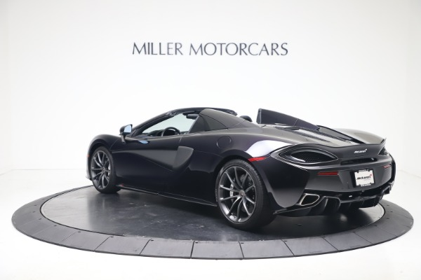 Used 2019 McLaren 570S Spider Convertible for sale $189,900 at Bentley Greenwich in Greenwich CT 06830 3
