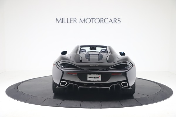 Used 2019 McLaren 570S Spider for sale $186,900 at Bentley Greenwich in Greenwich CT 06830 4