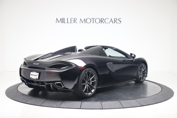 Used 2019 McLaren 570S Spider Convertible for sale $189,900 at Bentley Greenwich in Greenwich CT 06830 5