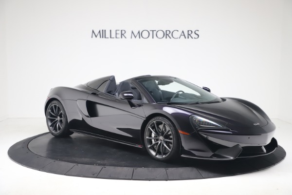 Used 2019 McLaren 570S Spider Convertible for sale $189,900 at Bentley Greenwich in Greenwich CT 06830 7
