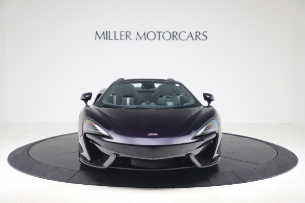 Used 2019 McLaren 570S Spider for sale $186,900 at Bentley Greenwich in Greenwich CT 06830 8