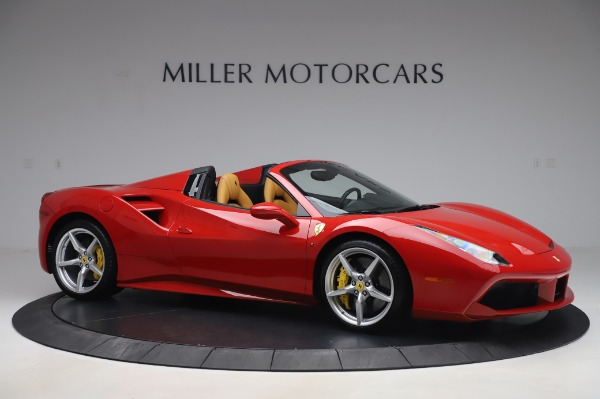 Used 2018 Ferrari 488 Spider Base for sale Sold at Bentley Greenwich in Greenwich CT 06830 10