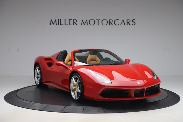 Used 2018 Ferrari 488 Spider Base for sale Sold at Bentley Greenwich in Greenwich CT 06830 11