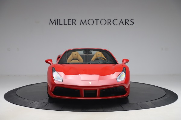 Used 2018 Ferrari 488 Spider Base for sale Sold at Bentley Greenwich in Greenwich CT 06830 12