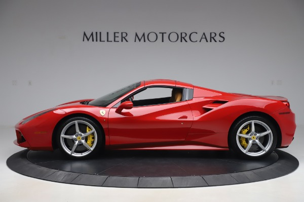 Used 2018 Ferrari 488 Spider Base for sale Sold at Bentley Greenwich in Greenwich CT 06830 13