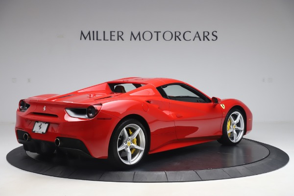 Used 2018 Ferrari 488 Spider Base for sale Sold at Bentley Greenwich in Greenwich CT 06830 15