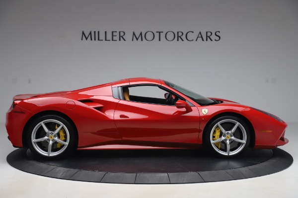 Used 2018 Ferrari 488 Spider Base for sale Sold at Bentley Greenwich in Greenwich CT 06830 16