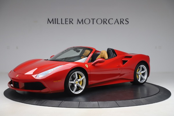 Used 2018 Ferrari 488 Spider Base for sale Sold at Bentley Greenwich in Greenwich CT 06830 2