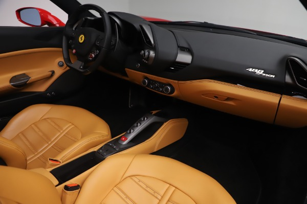 Used 2018 Ferrari 488 Spider Base for sale Sold at Bentley Greenwich in Greenwich CT 06830 23