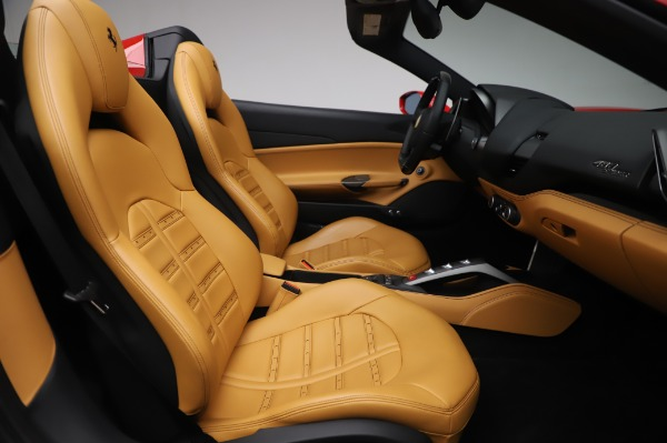 Used 2018 Ferrari 488 Spider Base for sale Sold at Bentley Greenwich in Greenwich CT 06830 24