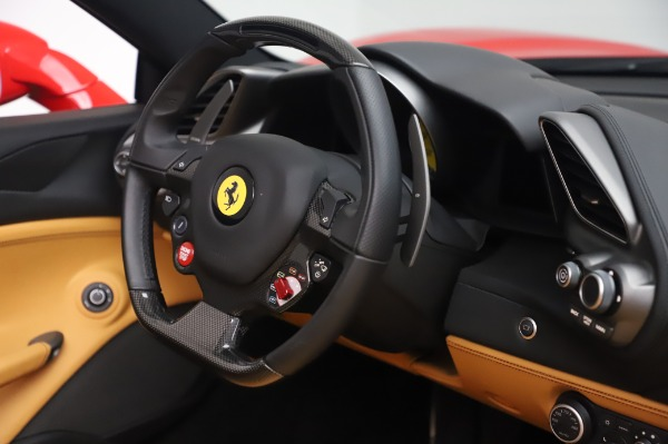 Used 2018 Ferrari 488 Spider Base for sale Sold at Bentley Greenwich in Greenwich CT 06830 26