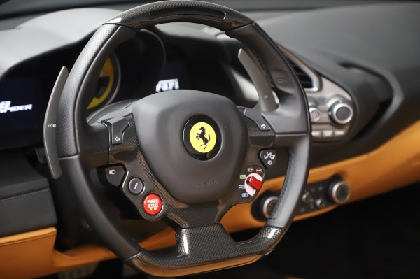 Used 2018 Ferrari 488 Spider Base for sale Sold at Bentley Greenwich in Greenwich CT 06830 27