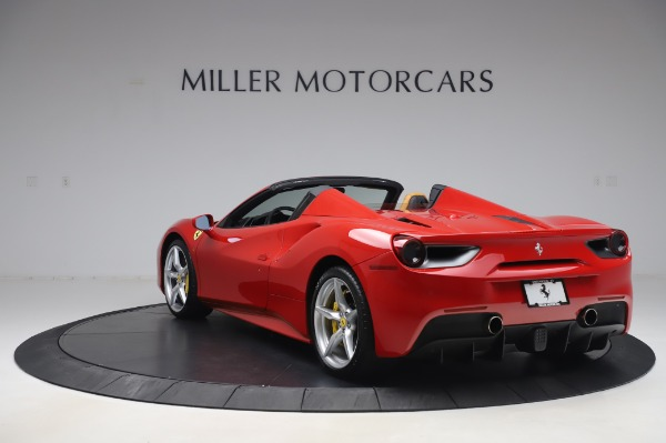 Used 2018 Ferrari 488 Spider Base for sale Sold at Bentley Greenwich in Greenwich CT 06830 5