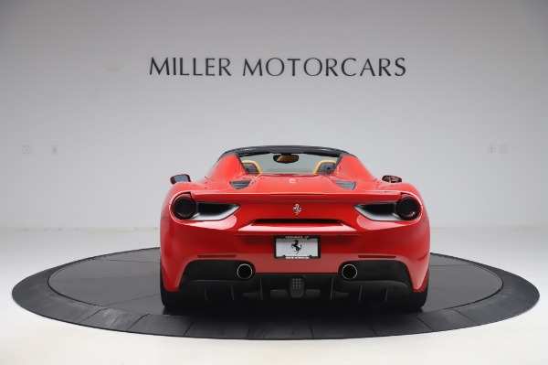 Used 2018 Ferrari 488 Spider Base for sale Sold at Bentley Greenwich in Greenwich CT 06830 6