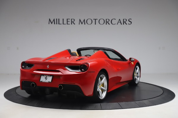 Used 2018 Ferrari 488 Spider Base for sale Sold at Bentley Greenwich in Greenwich CT 06830 7