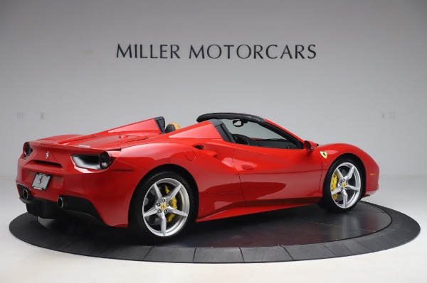 Used 2018 Ferrari 488 Spider Base for sale Sold at Bentley Greenwich in Greenwich CT 06830 8