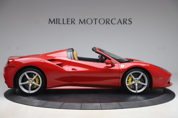 Used 2018 Ferrari 488 Spider Base for sale Sold at Bentley Greenwich in Greenwich CT 06830 9