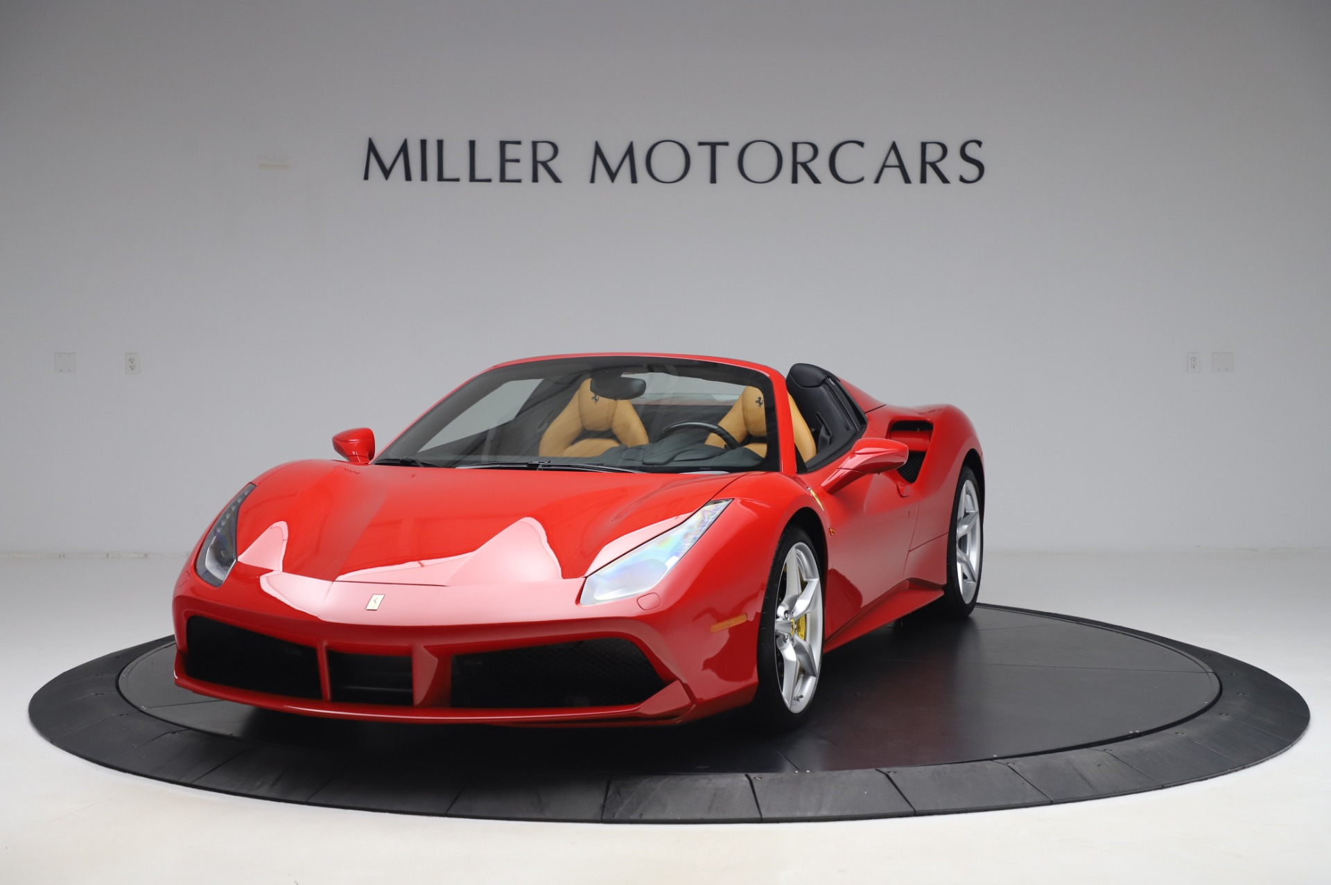 Used 2018 Ferrari 488 Spider Base for sale Sold at Bentley Greenwich in Greenwich CT 06830 1