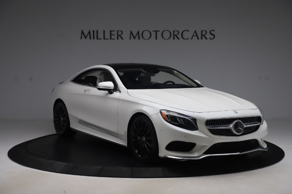 Used 2015 Mercedes-Benz S-Class S 550 4MATIC for sale Sold at Bentley Greenwich in Greenwich CT 06830 11