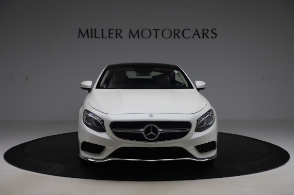 Used 2015 Mercedes-Benz S-Class S 550 4MATIC for sale Sold at Bentley Greenwich in Greenwich CT 06830 12