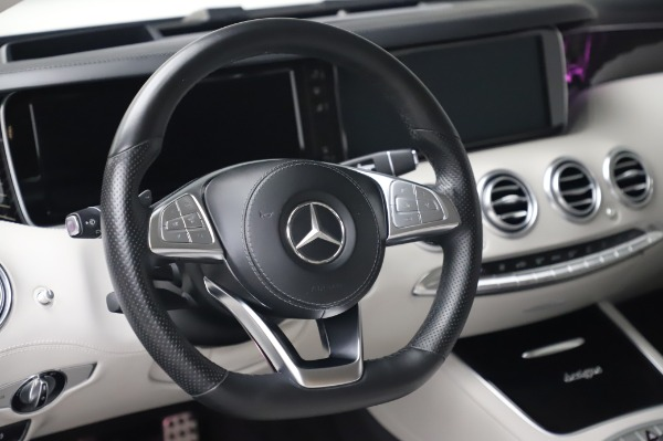 Used 2015 Mercedes-Benz S-Class S 550 4MATIC for sale Sold at Bentley Greenwich in Greenwich CT 06830 18