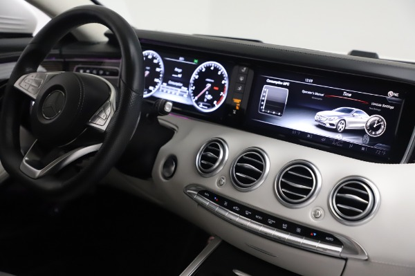 Used 2015 Mercedes-Benz S-Class S 550 4MATIC for sale Sold at Bentley Greenwich in Greenwich CT 06830 23